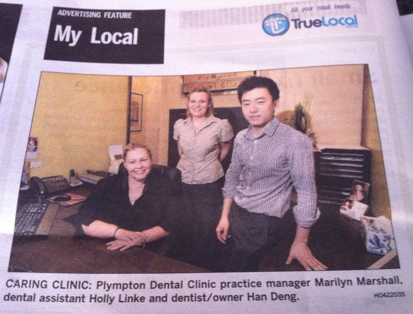 Team at Plympton Dental Clinic